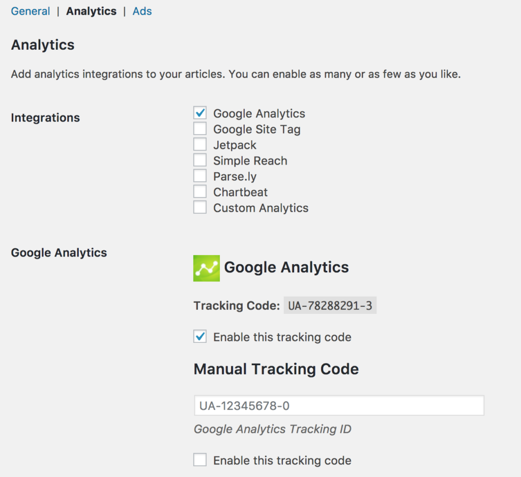 Google Analytics for Instant Articles